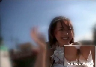 asian teen doll getting muff juicy during the